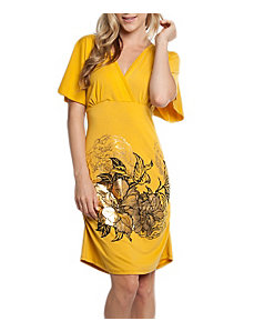 Mustard Madness Dress by alight