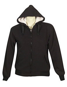 Black Fun Fleece Jacket by alight