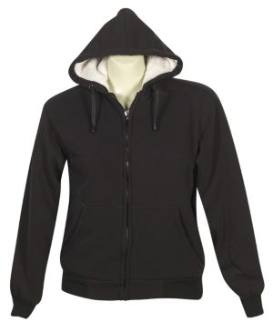 Black Fun Fleece Jacket