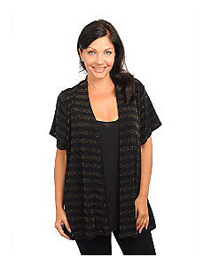 Black Gold Cardigan by alight