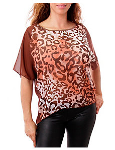 Any Animal Print Top by alight