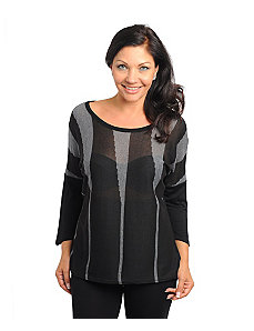 Black Manhattan Top by alight