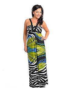 Exotic Print Maxi Dress by alight