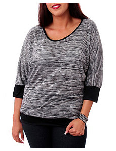 Grey Zone Top by alight