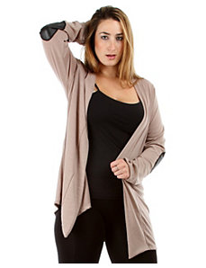 Elbow Patch Cardigan by alight