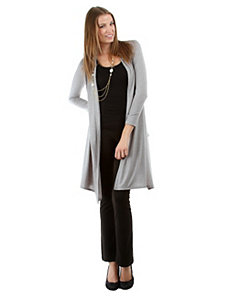 Light Grey Draped Cardigan by alight