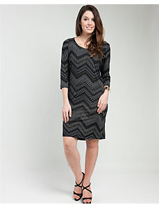 Zig Zag Dress by alight