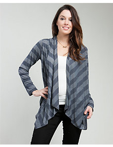 Sheer Stripe Cardigan by alight