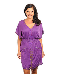 Purple Stud Dress by alight