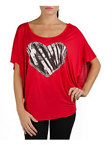 Red Heart Top by alight