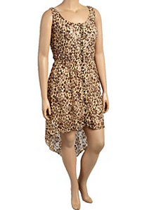 Hi Low Leopard Dress by alight