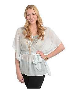 Belted Groovy Top by alight