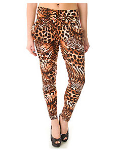 Brown Tiger Pants by alight
