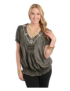 Beaded Top by alight