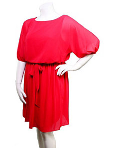 Red Russian Dress by alight