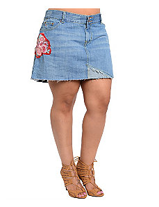 Hippie Days Denim Skirt by alight