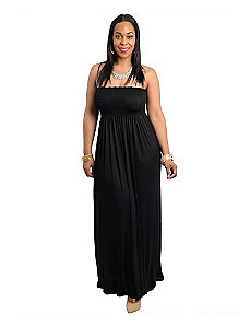 Black Night Maxi Dress by alight