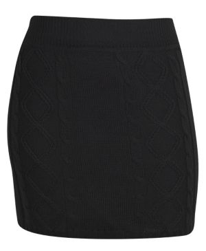 Black Sweater Skirt