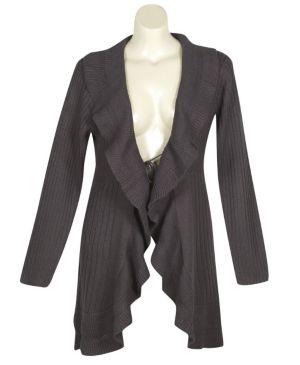 Grey Sweater Coat