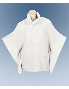Ivory Perfect Poncho by Extra Touch