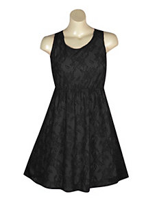 Lace Tank Dress by Extra Touch