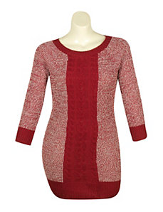 Sassy Sweater Dress by Extra Touch