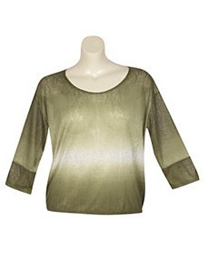 Ombre Top by Extra Touch