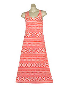 Sleeveless Printed Maxi by Extra Touch