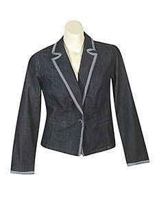New York Denim Blazer by Baccini