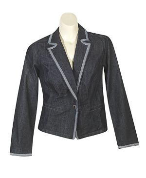 New York Denim Blazer