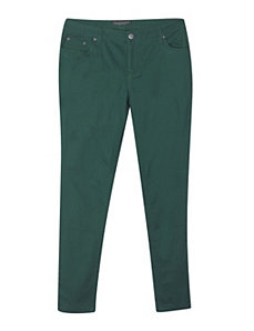 Dark Teal Color Jean by Baccini