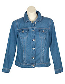 Denim Boston Jacket by Baccini