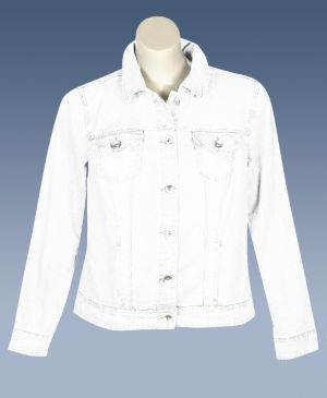 White Denim Boston Jacket