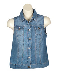 Denim Dawn Vest by Baccini