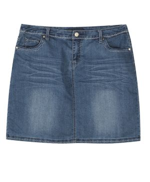 Do Over Denim Skirt