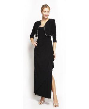 Midnight Dress And Shawl