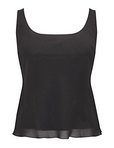 Black Short Top by Alex Evenings