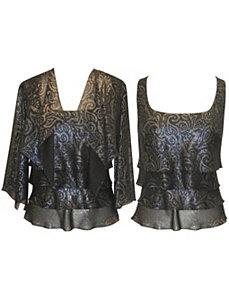 Dark Night Top by Alex Evenings