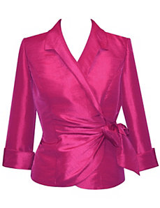 Magenta Blouse by Alex Evenings