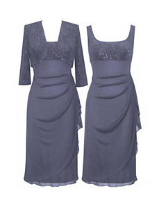Wedgewood Evening Dress by Alex Evenings