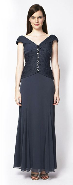 Slate Evening Dress