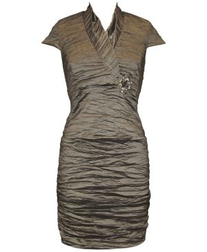 Pewter Parties Evening Dress