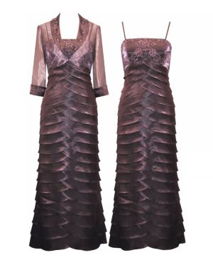 Ripples of Mauve Dress
