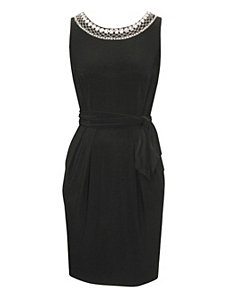 Black Beginning Dress by Alex Evenings