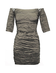 Pewter Paris Dress by Alex Evenings