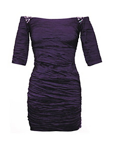 Purple Paris Dress by Alex Evenings