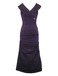 Purple Peoria Dress by Alex Evenings