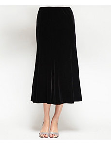 Elegant Velvet Skirt by Alex Evenings