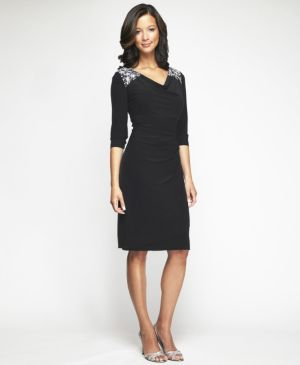 Black Glam Party Dress