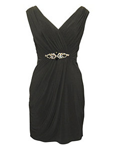 Black Jewel Dress by Alex Evenings